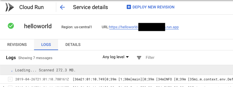 Google Cloud Run with Micronaut and GraalVM at planetjones